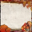 Thanksgiving background design — Stock Photo