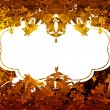 Thanksgiving background frame — Stock Photo