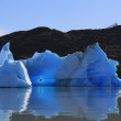 Ice from the glacier — Stock Photo