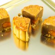 Piece of moon cake — Stock Photo #35078403