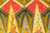 Traditional Batik Sarong Pattern Background — Stock Photo