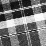 Black&white loincloth fabric background — Stock Photo
