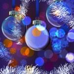 Background Evening Balls — Stock Vector #34326105