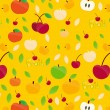 Fruits Pattern-1 — Stock Vector
