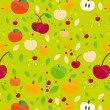 Fruits Pattern-2 — Stockvectorbeeld