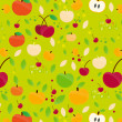 Fruits Pattern-2 — Stock Vector