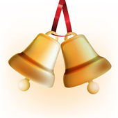 Golden Bells — Stock Vector