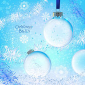 Kerst bal — Stockvector