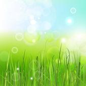 Fundo verde vigas — Vetor de Stock