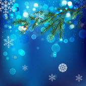雪分支机构 — 图库矢量图片