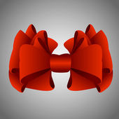 Gift bow — Vector de stock