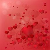 Sfondo cuore — Vettoriale Stock