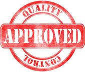 Selo de aprovação — Stockfoto