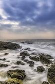 Overcast sky and the sea — Stock Photo