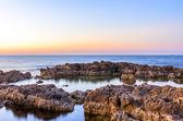 Soft, calm sea sunset — Stockfoto