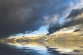 Amasing sunset landscape — Photo