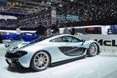 Geneva Motor Show: McLaren P1 — Stock Photo