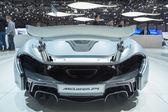 Geneva Motor Show: McLaren P1 — Stock Photo
