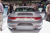 Geneva Motor Show: Porsche 911 targa 4 — Stock fotografie
