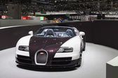 Geneva Motor Show: Bugatti Veyron — Stock Photo