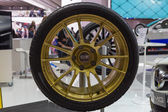 Geneva Motor Show: OZ Racing wheel — Stock Photo