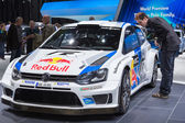 Geneva Motor Show: Volkswagen WRC — Stock Photo