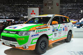 Geneva Motor Show: MITSUBISHI Rally Federal — Stock Photo