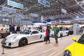 Geneva Motor Show: Ruf zone — Stock Photo