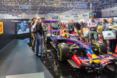 Geneva Motor Show: Formula 1 Redbull — Stock Photo