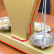 Close-up of jewelry scale — Stock Photo