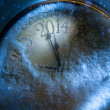 New Year 2014 countsown — Stock Photo