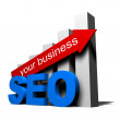 Seo your business — Stock Photo