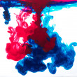 color ink in water — Stock Photo