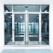 Glass doors — Stock Photo