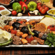 turkish traditional kebap specials ready to serve — Stock Photo