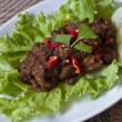 Stock Photo: Beef rendang
