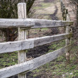 Wooden ranch fence — Stock Photo #36791619