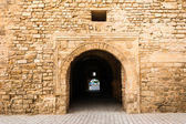 Slifa Kahla, Ancient Gate of the City of Mahdia, Tunisia — Stock Photo