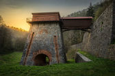 Old Blast Furnace near Adamov — Stock Photo