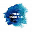 Abstract splash. Ink blot. Grunge background. — Stockfoto
