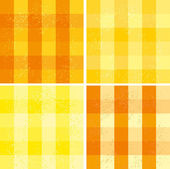 Set of backgrounds with squares — Stock Vector