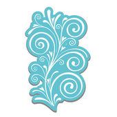 Calligraphic design — Vecteur
