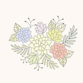 Floral background. — Stockvector