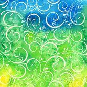 Watercolor background. — Stock Vector