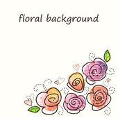 Růže. — Stock vektor