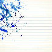 Watercolor splash background — Stok Vektör