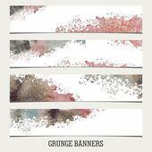 Grunge-banner — Stockvektor