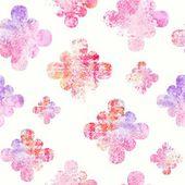 Floral nahtlose Hintergrund. — Stockvektor