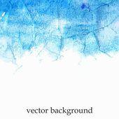 Blue watercolor splash. — Stock Vector