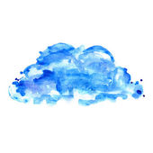 Blue cloud — Stock Photo